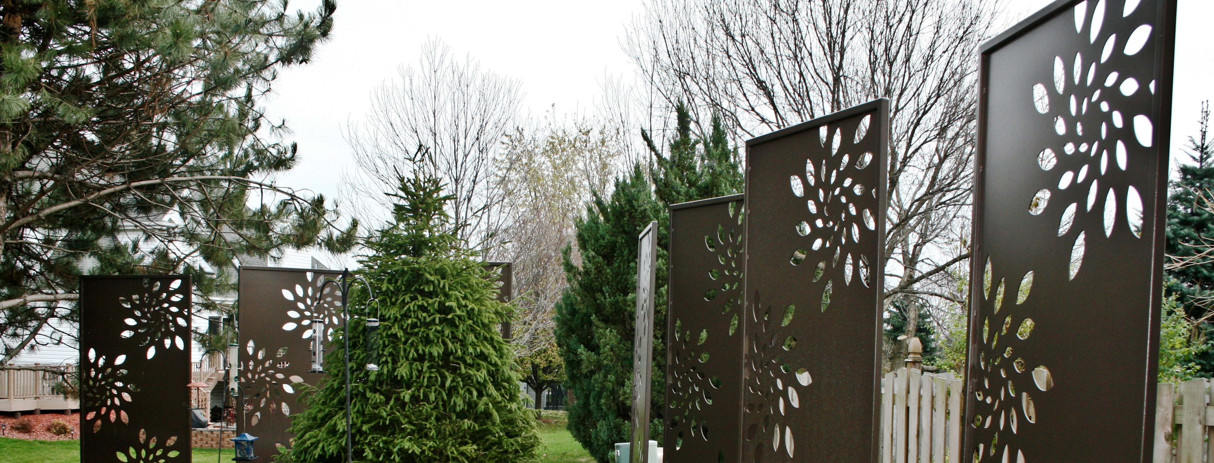Privacy & Utility Screens | Aesthetic Metals